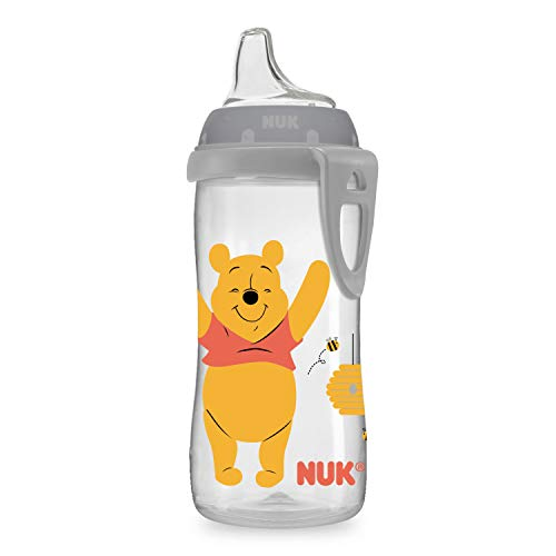 NUK Disney Active Sippy Cup, Winnie the Pooh, 10oz 1pk