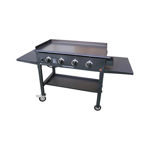 Jur_Global Imports 1565 Griddle Cooking Station, 4-Burner, 36-in