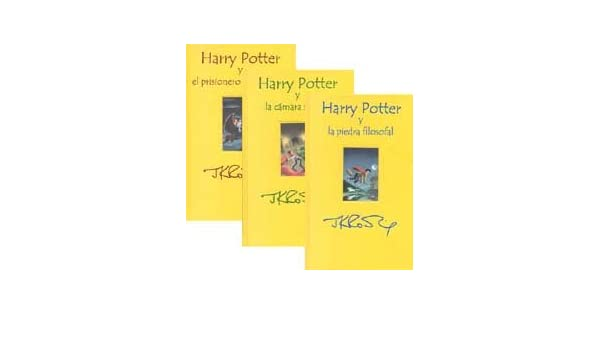 HARRY POTTER ESTUCHE 3 TOMOS: 9788478886418: Amazon.com: Books