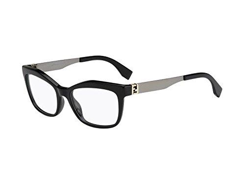 Fendi FD 0050 Eyeglasses 0KKL Black Ruthenium