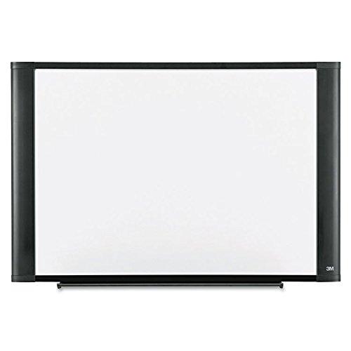 3M - Melamine Dry Erase Board, 72 x 48, Graphite Frame by 3M