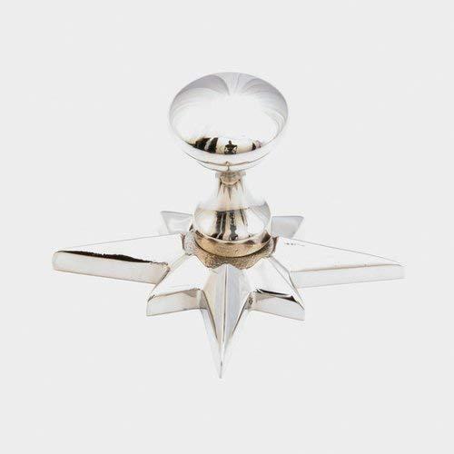 Sonata 11/16 Inch Diameter Polished Nickel Cabinet Knob -