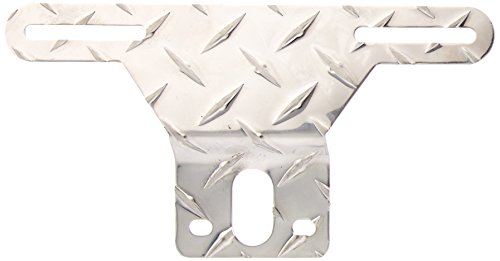 - CE Smith Trailer 26053A Aluminum Tread License Plate Bracket, 9 3/8