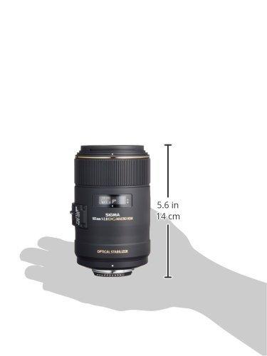 Sigma 258306 105mm F2.8 EX DG OS HSM Macro Lens for Nikon DSLR Camera by Sigma (Image #4)