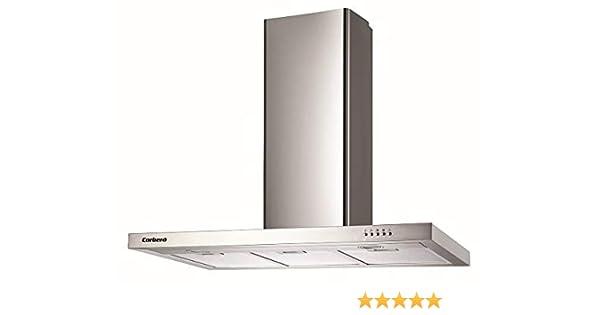 Corbero Campana 90 CCSD55090TSH 550 M3/H INOX: Amazon.es: Hogar