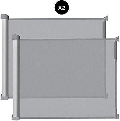 Callowesse® DELUXE Barrera de Seguridad Extensible 0-110 cm con ...