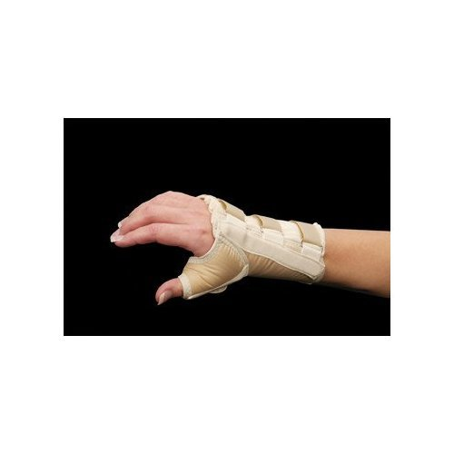 Wrist and Thumb Spica Splint Size: Large, Hand: Right