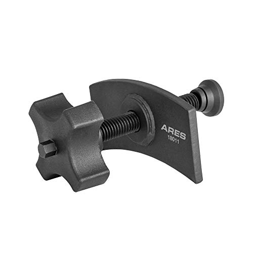 ARES 18011 | Heavy Duty Brake Pad Spreader | Built-in Comfort Tightening Knob | Heavy-Duty Steel Construction | Solid Steel Swivel Joint for Precise and Even - Brake Pad Cylinder