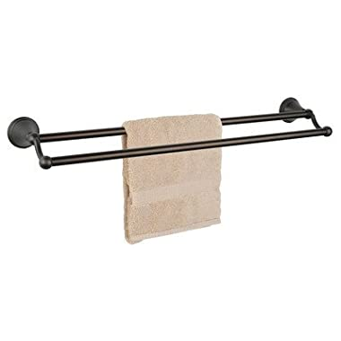 Dynasty Hardware 9316-ORB Bay Hill 24  Double Towel Bar Oil Rubbed Bronze