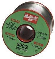 Solder Wire, 96.5/3/0.5, 0.032