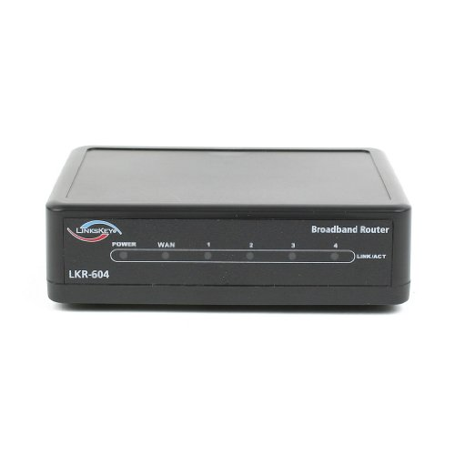 Linkskey LKR-604    4-Port DSL/Cable IP Sharing Router Wired (LKR-604)