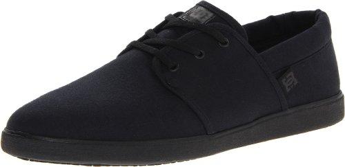 DC Men's Haven Lace-Up Fashion Sneaker,Black/Black,8.5 M US