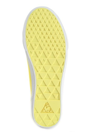 Le Coq Sportif DEAUVILLE PLUS CANVAS FLUO lemon tonic