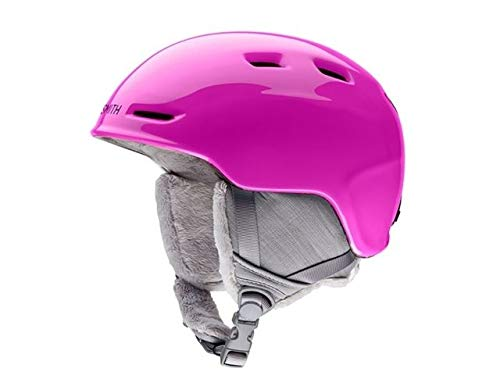 Pink Snowboard Helmet - Smith Optics Zoom Jr Youth Ski Snowmobile Helmet - Pink/Medium