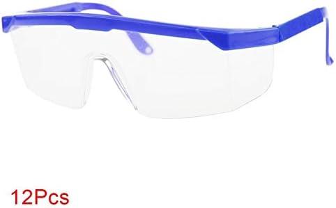 12 Piezas Gafas De Seguridad En El Lugar De Trabajo Gafas Gafas Gafas De Protecci/ón para Los Ojos Gafas Gafas De Equitaci/ón Laboratorio De Protecci/ón contra El Viento Al Aire Libre Negro