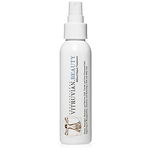 Vitruvian Beauty Advanced Repair Treatment - Leave In Deep Conditioner, Detangler, & Split End Repair Treatment for Dry Hair, Damaged Hair, & Color Treated (Como Repara)