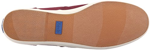 Keds Herenkampioen Solid Army Twill Sneaker Bordeauxrood