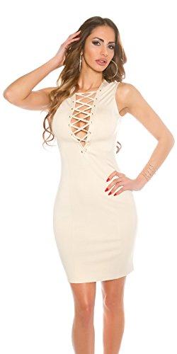In-Stylefashion - Vestido - Estuche - para mujer Beige