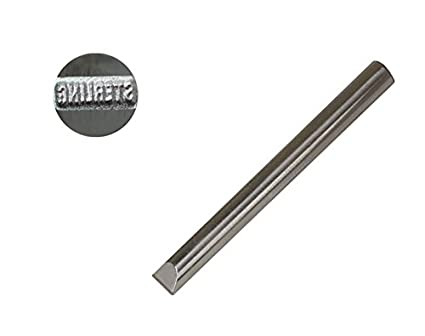 3 4 MM Jewelers Steel Punch QuotSTERLINGquot Straight Silver Jewelry Metal Stamp