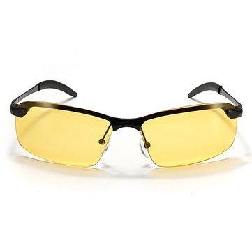 Polarized- Uv400 Mens Cycling Driving Polarized Night Vision Glasses Sun Glassess - 1PCs