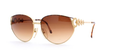 Christian Dior 2750 41 Brown and Gold Authentic Women Vintage - Sunglasses Dior Retro
