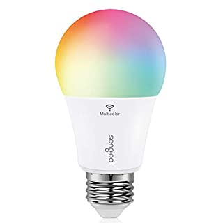 Sengled Smart Light Bulb, Color Changing Light Bulb, WiFi Light Bulbs No Hub Required, Smart Bulbs that Work with Alexa & Google Home, Smart LED A19 RGB Light Bulbs, 1 Pack