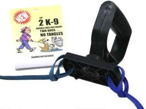 2K-9 Double Dog Walker (Two Leash Manager), My Pet Supplies