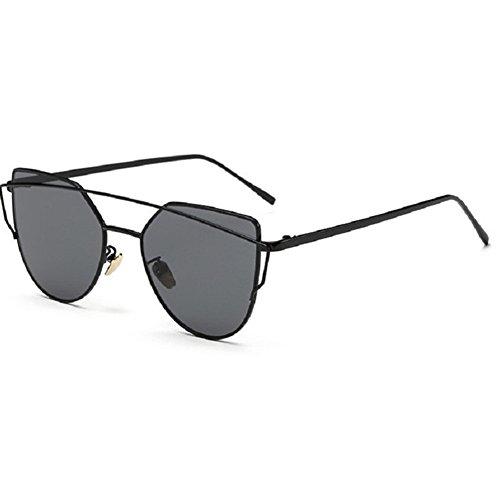 O-C Unisex Fashion style Sunglasses,Black frame, grey - Can Where Sunglasses I Buy Lennon John
