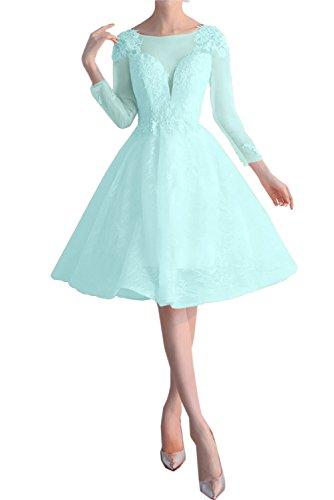 TOSKANA BRAUT - Vestido - trapecio - para mujer azul celeste