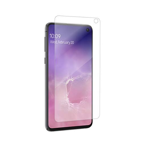 ZAGG InvisibleShield Glass+ Screen Protector - Made for Samsung GS10 Edge - Extreme Impact & Scratch Protection - Easy to Apply - Seamless Touch Sensitivity