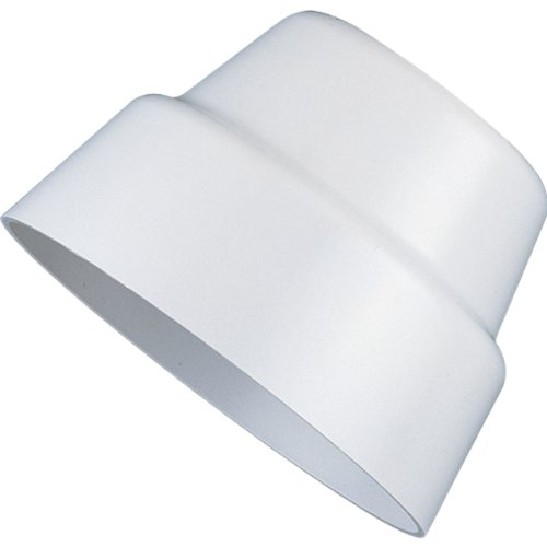 Progress Lighting P5214-30 Par Lampholder Shroud In White Finish, White (Lampholder 20 Par)