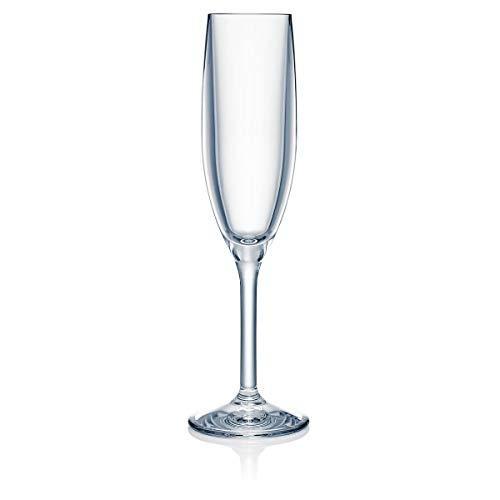 Strahl Design+Contemporary 5-oz Champagne Flute, Set of 4