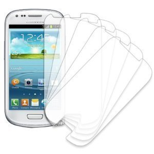 5 Pack of Clear Screen Protectors for Samsung Galaxy S III S3 Mini - Protector I8190 Screen Mini