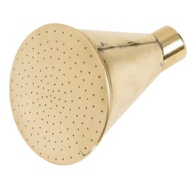 Haws V210 Round Brass Rose for Outdoor Cans - Fine Spray - Haws Watering Can Rose