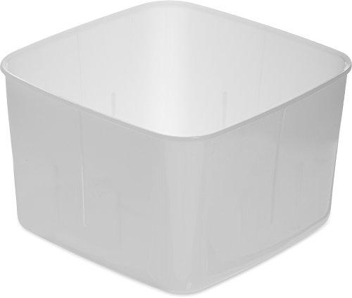 Storplus Food Storage - Carlisle 153202 StorPlus BPA-Free Food Storage Container Only, 2 Quart, Opaque (Pack of 12)