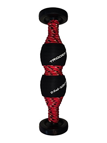 T-Pin Vector Foam Roller for Trigger Points - Revolutionary Body Roller - More Effective than Other Foam Rollers / Lacrosse Balls for Myofascial Release, Deep Tissue & Self Massage - Made in the USA
