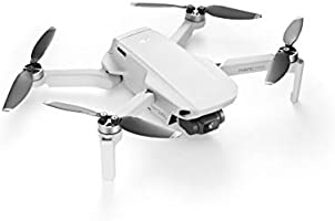DJI Mavic Mini - Drone FlyCam Quadcopter UAV with 2.7K Camera 3-Axis Gimbal GPS 30min Flight Time, less than 0.55lbs, Gray