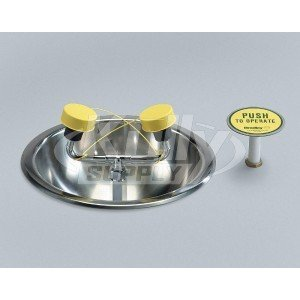 Bradley S19-260 Deck Counter Top-Mounted Eye Face Wash Station. (Deck Countertop)