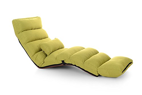 e-joy Relaxing Sofa Bean Bag Folding Sofa Chair, Futon Chair and Lounge, Fruit Green by e-joy