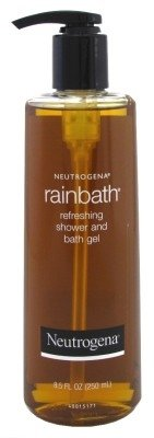(Neutrogena Rainbath Refreshing and Cleansing Shower and Bath Gel, Moisturizing Body Wash and Shaving Gel with Clean Rinsing Lather, Original Scent, 8.5 fl. oz (Pack of 2))