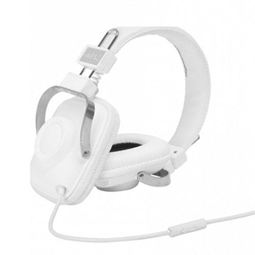 WESC 0006994001 Maraca Retro Style Headphones, White