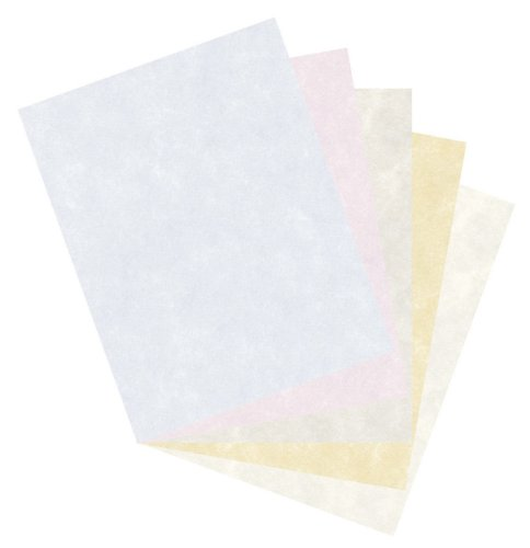Pacon Bond Paper, 8 1/2 inches by 11 inches, Parchment Assortment, 500 Sheets (101079)
