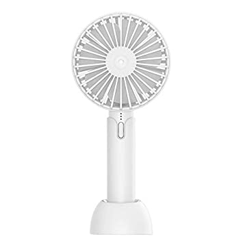 Mini Usb Portable Rechargeable Air Handheld Electric Desk Plastic Battery Operated With Conditioning Clip Cooler Mini Fan