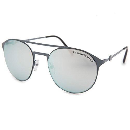 Hipster Cruise Italy Brown Technomarine Mirror Thin Sunglasses Metal Aviator gradient Lens Made Tmew004 In Frame Round Stylish BxFq4xY