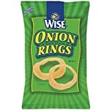 Wise Onion Rings, .5-Oz Bags (Pack of 72)