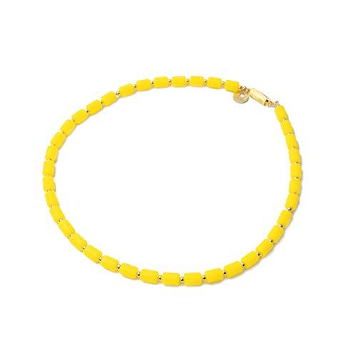 クリオインパルスネックレス(14KGF) ゴールドフィルドタイプ レモンM 50cm B07HVGC156