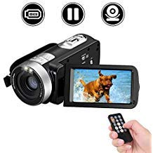 Camcorder Digital Camera Full HD 18X Digital Zoom Night Vision Video Camcorder with LCD and 270...