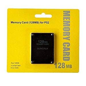 - PeleusTech® Memory Card, 128MB High Speed Memory Card for Sony PS2 Playstation 2 Games