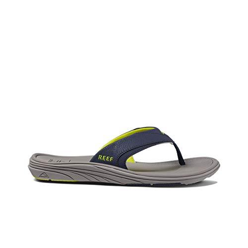 Reef Modern Mens Sandal Grey-Navy (Reef Footwear Sandals)