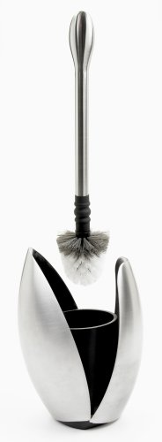 OXO Good Grips Curve Toilet Brush and Canister, Stainless